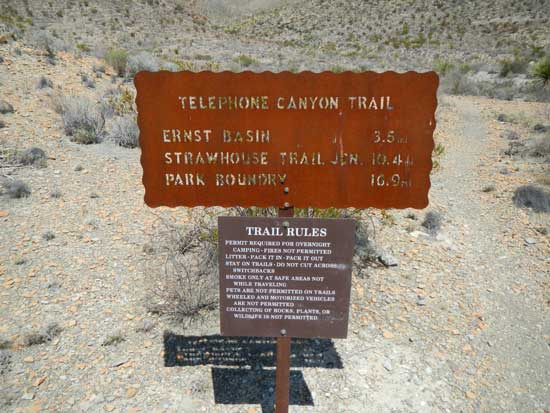 Telephone Canyon Trail