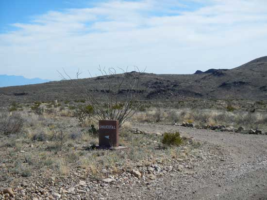 Camp Chilicotal Entrance