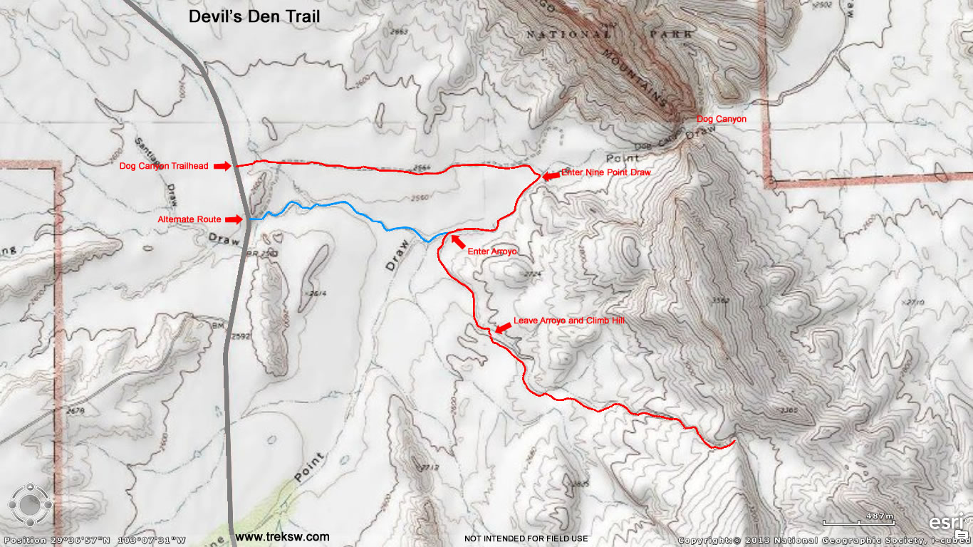 Devil\'s Den Trail – Big Bend National Park - Trek Southwest