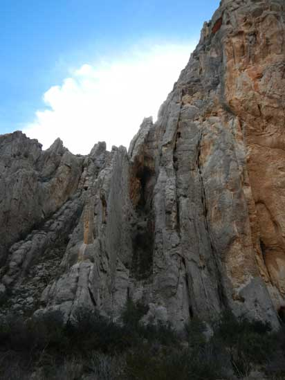 Dog Canyon Cliffs