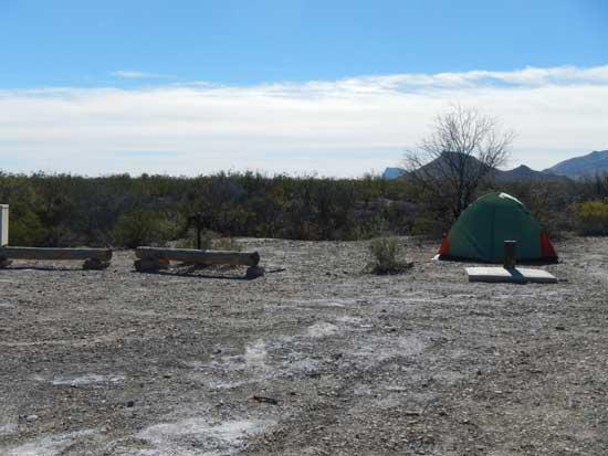 Grapevine Hills Campsite 2