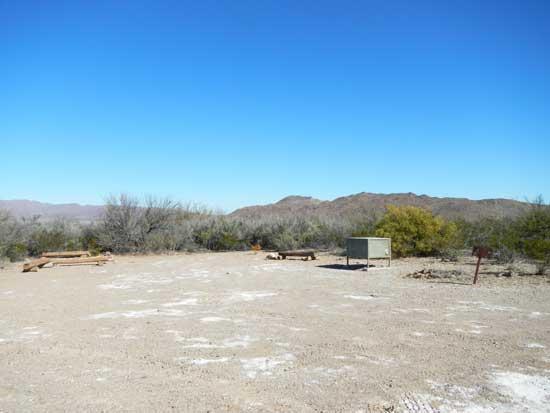 Grapevine Hills Campsite 3