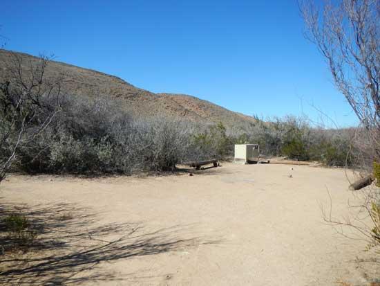 Grapevine Hills Campsite 5