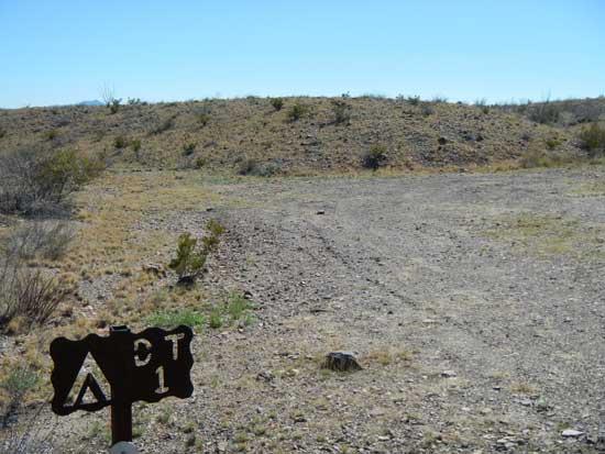 Dominguez Trailhead Campsite