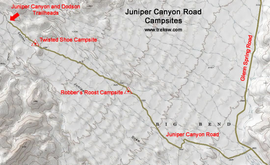 Juniper Canyon Small Topo