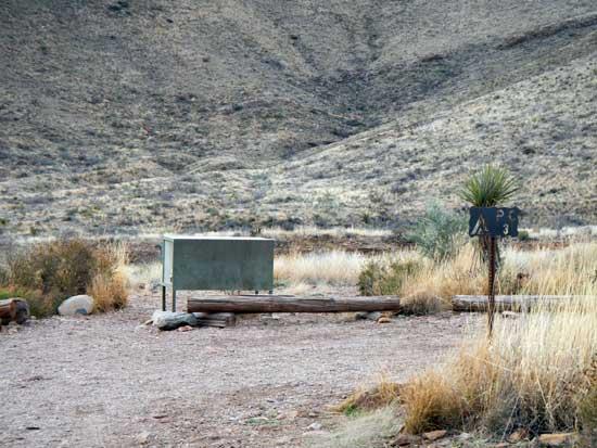 Pine Canyon Campsite 3