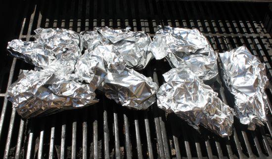 Campfire Cones Cooking