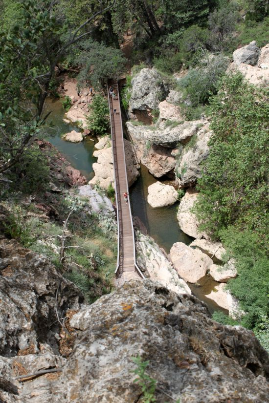 Tonto Natural Bridge Viewpoint #4