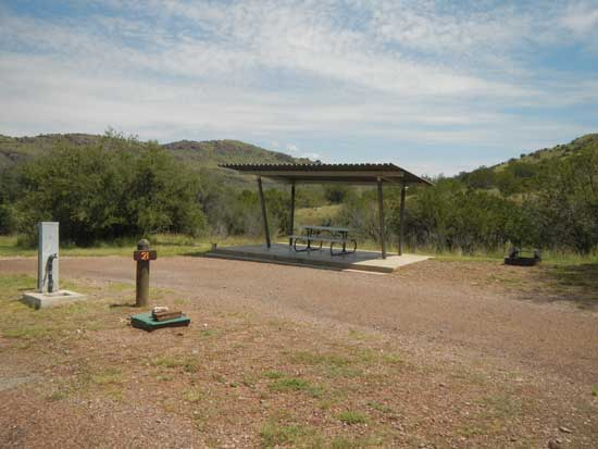 Davis Mountains RV Site