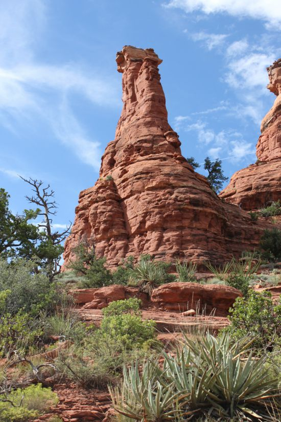 Kachina Woman Rock Formation