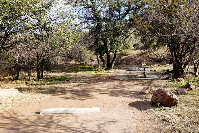 Davis Mountains Tent Site
