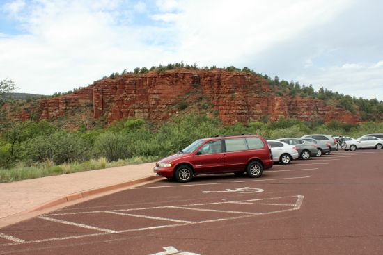 Red Rock State Park Parking Lot