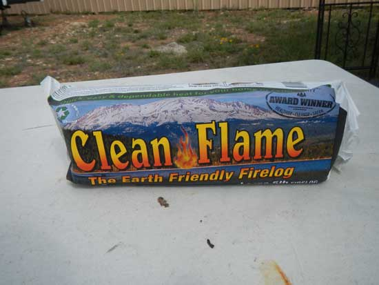 CleanFlame Firelog