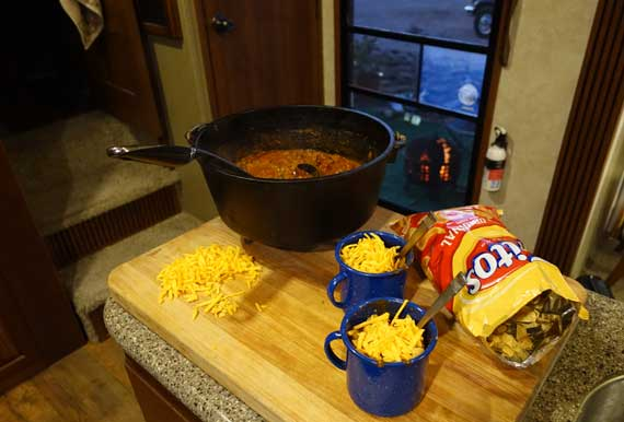 Dutch Oven Chili