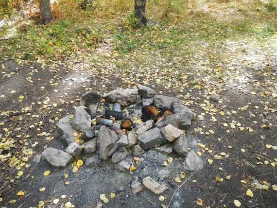 Campfire Etiquette - Nasty Cammpfire