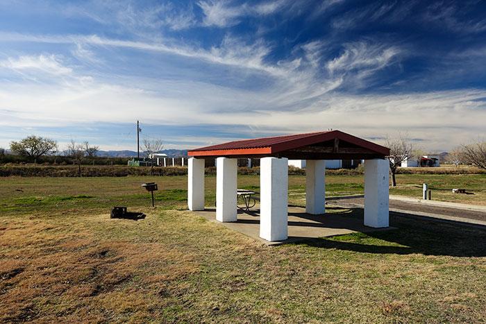 Balmorhea State Park Campsite