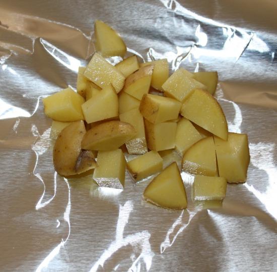 Salsa Potatoes