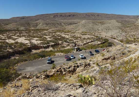 Boquillas Parking