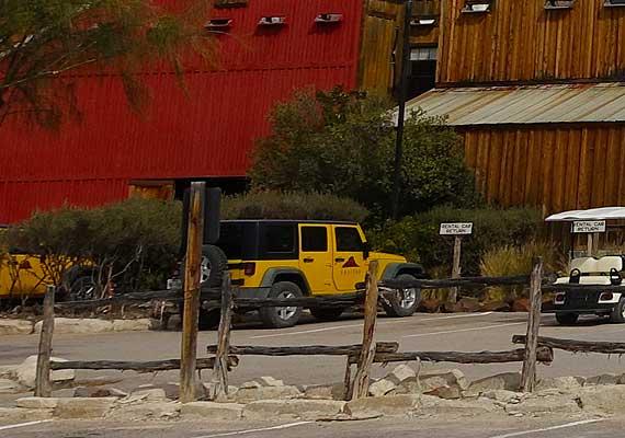 Lajitas Jeep Rentals