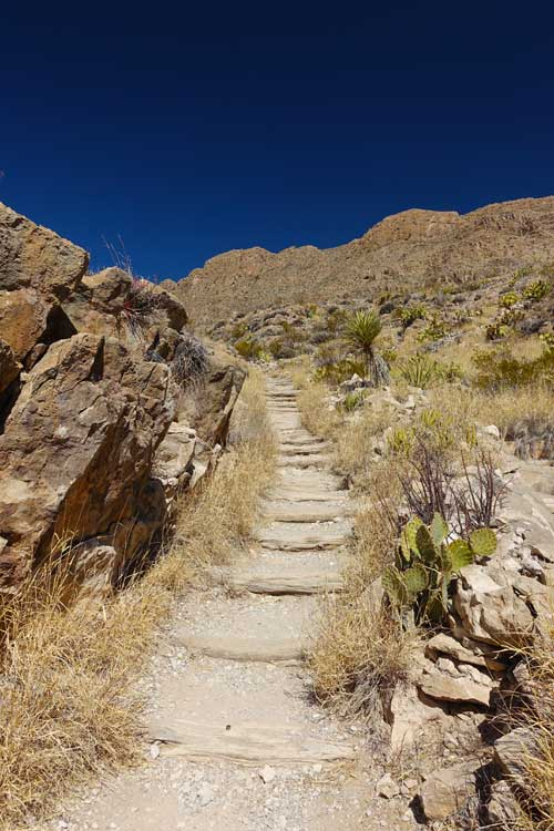 Beginning of Boquillos Trail