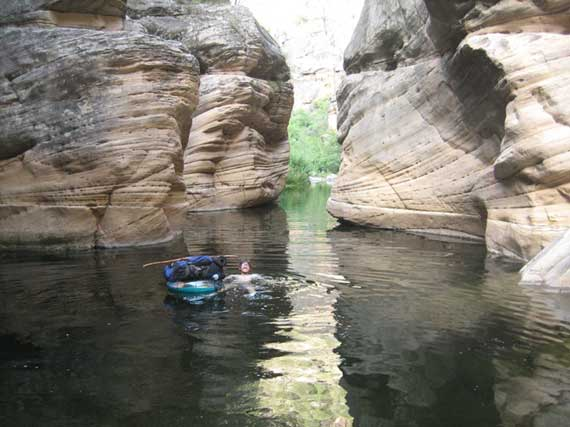 West Clear Creek One of Arizonas Finest Canyons Trek Southwest