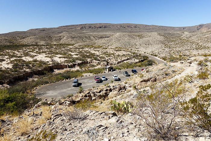 Boquillas Canyon Trail Parking