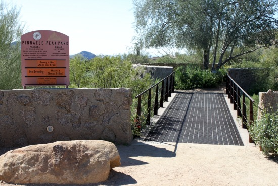 Pinnacle Peak Main Gate