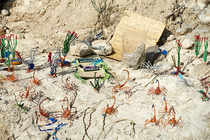 Trinkets on Boquillas Canyon Trail