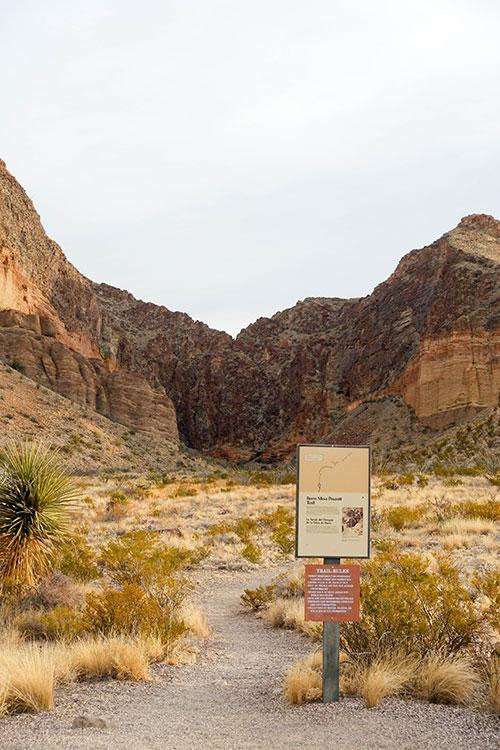 Burro Mesa Trailhead