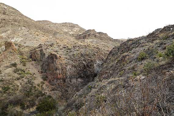 Burro Spring Cliff