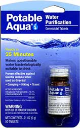 Potable Aqua for a Desert Survival Kit