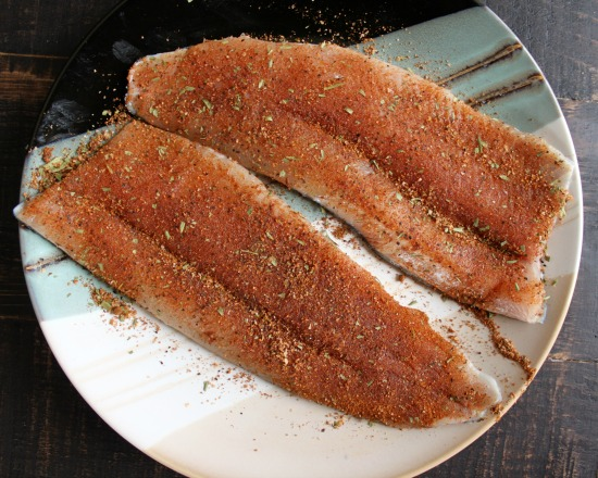 Fillets with Dry Rub