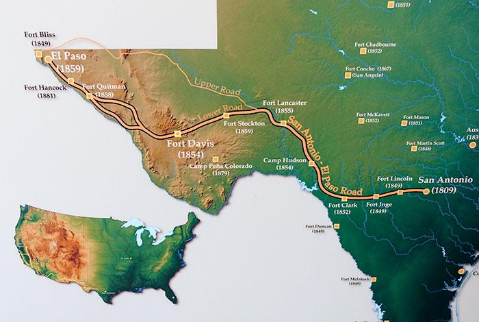 San Antonio-El Paso Road
