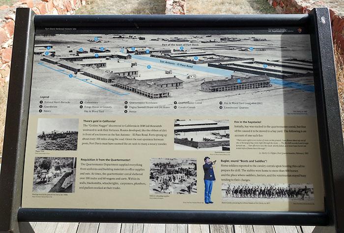 Fort Davis Sign