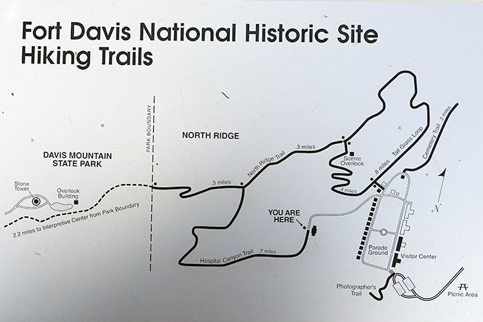 Fort Davis Hiking Trails