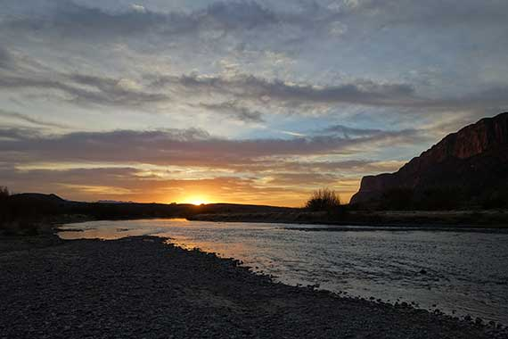 Santa Elena Canyon Sunrise