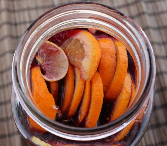 Oranges in Jar