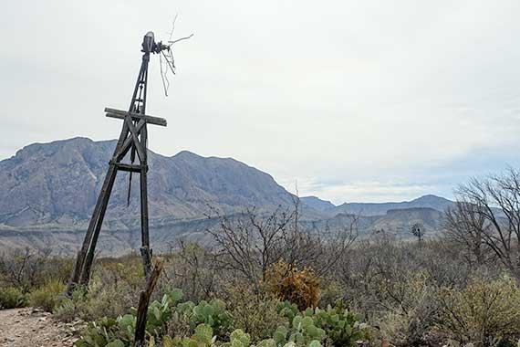 Overlooking Sam Nail Ranch Trail