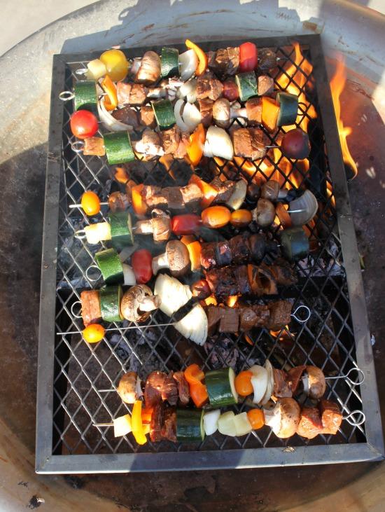 Kebabs Cooking