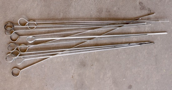 Metal skewers