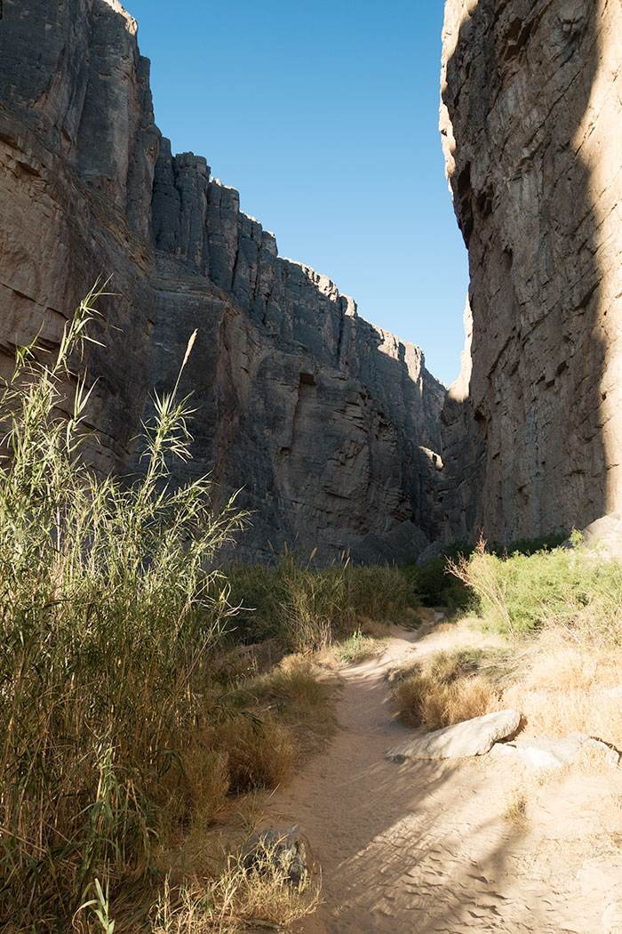Entering Santa Elena Canyon