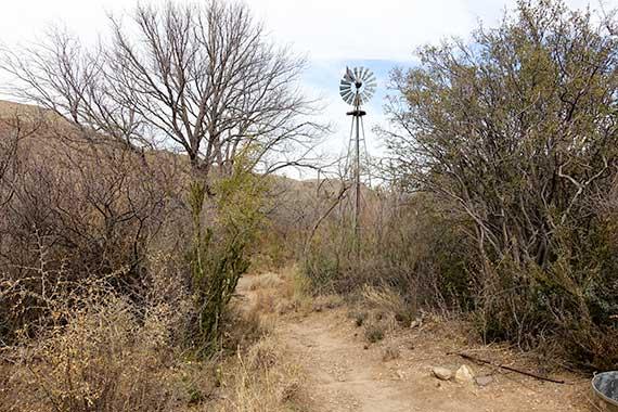 Sam Nail Ranch Windmill