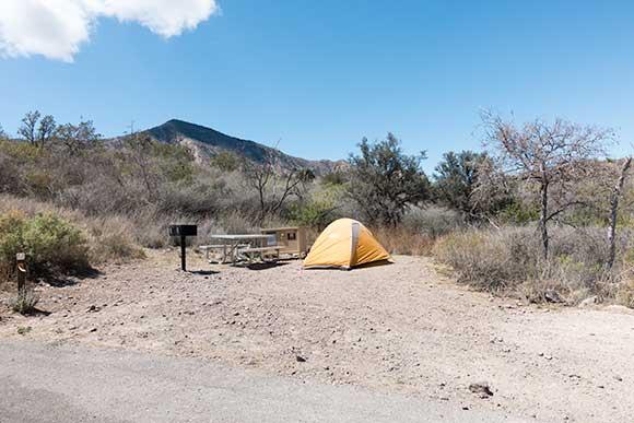 Chisos Basin Campsite