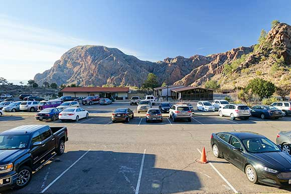 Chisos Basin Parking
