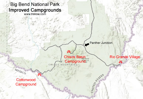 Big Bend National Park Camping Trek Southwest