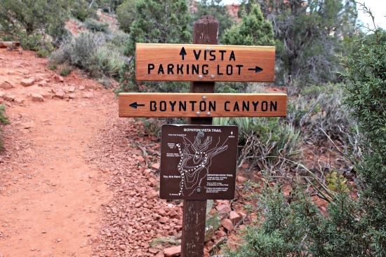 Vista Trail Signage