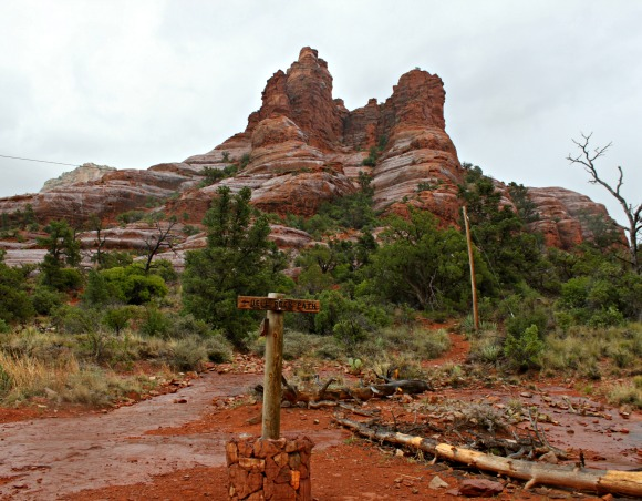 Wet Courthouse Butte