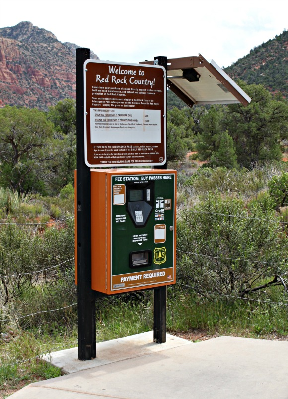 Red Rock pass pay station