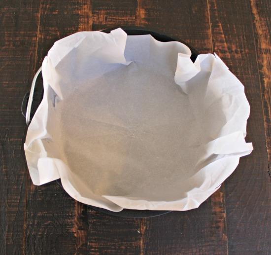 Paper in pot