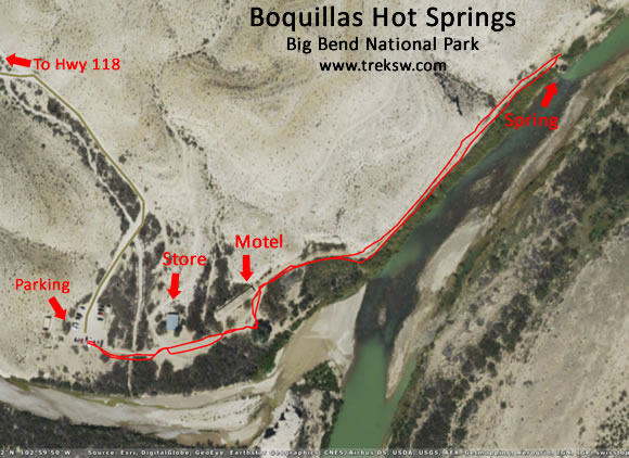 Boquillas Hot Springs Big Bend National Park Trek Southwest